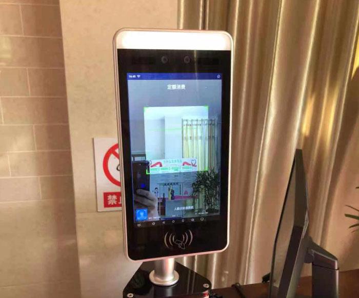 广西柳州南方电网公司职工餐厅人脸消费机